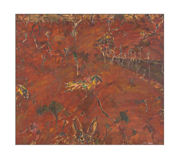 Tom and Sylvia Lowenstein are about to auction more than 250 paintings, works on paper and sculptures valued at $2 million through Mossgreen Auctions as their firm Lowenstein's Arts Management prepares for a new era. Leading the auction is John Olsen's Rabbit Warren, Rydal 1997 with a catalogue estimate of $120,000-$150,000.