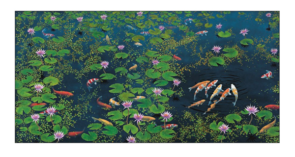 Specialists at Deutscher and Hackett are expecting a new auction record for Lin Onus when a monumental work by the artist comes up for sale in Sydney on 10 May. 'Riddle of the Koi', 1994 was released from the artist's estate in 2016 for a touring exhibition when it was bought by a private collector in Sydney. Its return to the market also marks its auction debut.